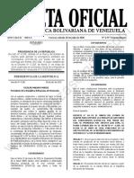 Gaceta Oficial Extraordinaria 6.557 Estado de Alarma