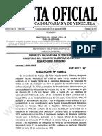 Gaceta Oficial 41.941 Sumario