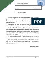 Português 3º ano  - O Segredo do Rio- Gramática 1