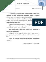 Português 3º ano  - O Segredo do Rio- Gramática 4 (grupo A do projeto)