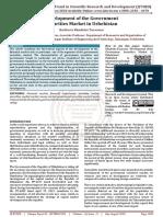 Development of the Government Securities Market in Uzbekistan
