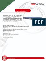 Datasheet-of-DS-3E0526P-E-24-Port-Gigabit-Unmanaged-PoE-Switch