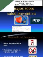 Consejos sobre salud preventiva