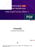 Target Prelims 2020 Polity-Lecture-1