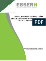 Protocolo de Tranfusão Segura HULW 2018