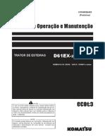 Manual de Operação D61EX