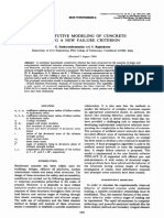 1996 Constitutive modeling of concrete using a new failure criterion