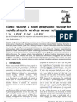 A Novel Geographic Routing For