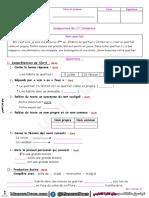 اختبارات السنة الرابعة 4 ابتدائي الفصل الاول اللغة الفرنسية موقع المنارة التعليمي (2)