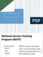 NSTP Program (RA 9163