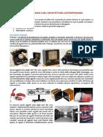 Storia Del Design e Dellarchitettura Con