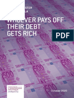 Fondapol Study Christian Pfister Natacha Valla Whoever Pays Off Their Debts Get Rich 2020 10