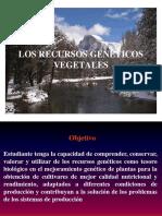 Presentación - Importancia de los recursos genéticos vegetales. (1)