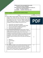 Soal Pts Semester 1 Kelas Xii Tkr 2020