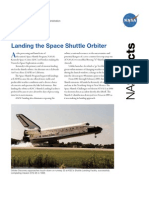 NASA Facts Landing the Space Shuttle Orbiter
