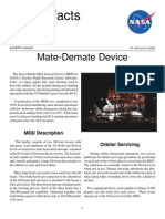 NASA Facts Mate-Demate Device 1998