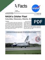 NASA Facts NASA's Orbiter Fleet 2001