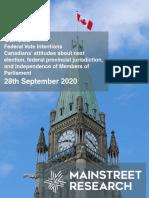 Mainstreet Canada 28september2020