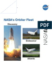 NASA Facts NASA's Orbiter Fleet 2007