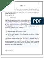 .net minor project-file compressor