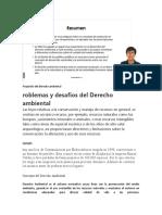 DERECHO AMBIENTAL RESUMEN CLASE V1