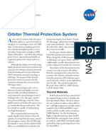 NASA Facts Orbiter Thermal Protection System 2005