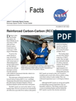 NASA Facts Reinforced Carbon-Carbon (RCC) Panels 2004