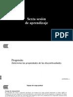 SESIÓN N° 6 MECÁNICA DE ROCAS II