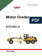 sany grader parts manual