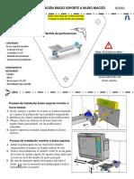 Instrucciones de instalacion brazo sporte draeger 2020