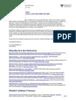 "[DE] PROJECT CONSULT Newsletter ""Information Management News"" Juli 2020"