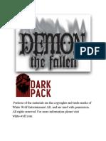 demon the fallen conversion guide
