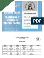 CUADERNILLO SEGUNDO SEMANA 6 Y 7