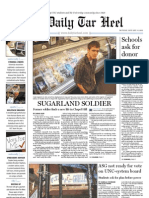 The Daily Tar Heel for January 31, 2011