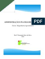 Apostila GERAL - ADMINISTRAÇÃO E PLANEJAMENTO RURAL (1).pdf