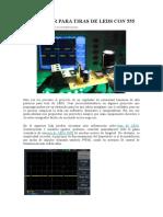 REGULADOR PARA TIRAS DE LEDS CON 555