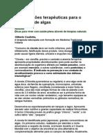 19 indicações terapêuticas para o consumo de algas - nutrição - alimentos - ortomolecular