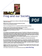 Frog and Our Society