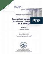 UD1 La psicología y la ciencia