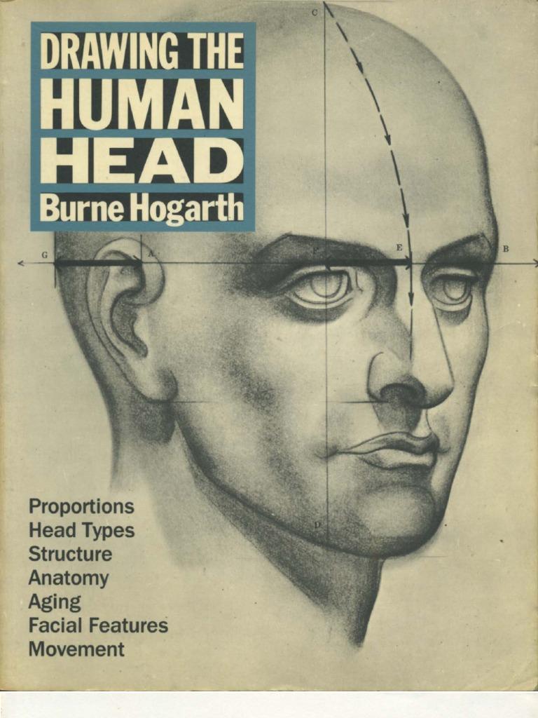 burne hogarth drawing the human head