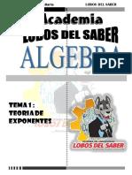TEORIA DE EXPONENTES (LOBOS)