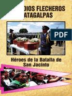 Indios Matagalpas en Batalla SAn Jacinto