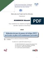 Reduction du taux de pannes de - Kannich Hamid_2978.pdf