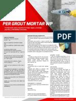 FT PER GROUT MORTAR WP