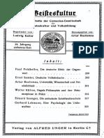 Kühne Cieszkowski als hegelscher Philosoph