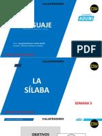 Semestral Intensivo Virtual San Marcos Semana 05- Lenguaje.pdf