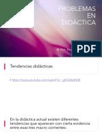 Problematica en didactica