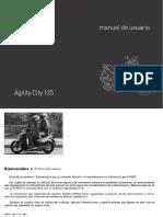 Manual Usuario- Agility-city-125
