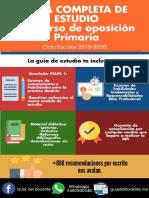 Guia de estudio Concurso de Oposición Educación Básica Primaria 2019-2020