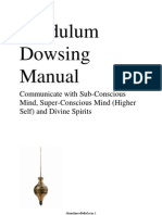 Manual for Pendulum & Dowsing and Channelling